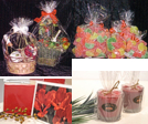 clear cello bags, flat bags, gusseted, Lip N Tape, Gift Basket bags