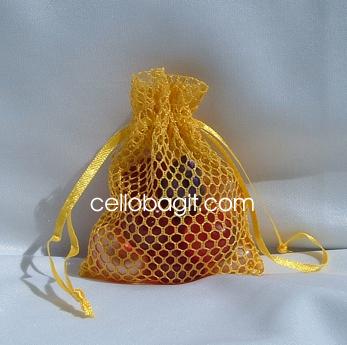22x25 Organza Basket bags, Cello Bag It